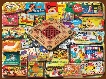 Classic Games Jigsaw Puzzle (550 piece)