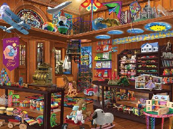 Seek & Find Toy Shop (1000 piece)