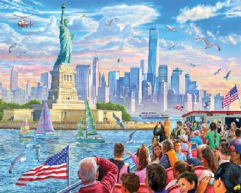 Statue of Liberty Jigsaw Puzzle (1000 piece)