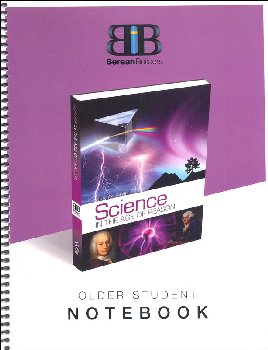 Older Student Notebook for Science in the Age of Reason