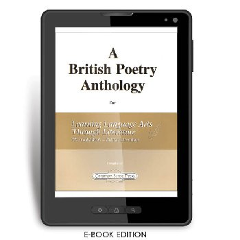 British Poetry Anthology for Learning Language Arts Through Literature Gold Book British Literature (3rd edition) e-book