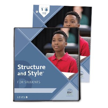 Structure and Style for Students: Year 1 Level B Binder & Student Packet
