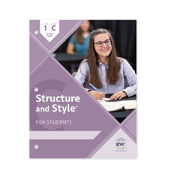 Structure and Style for Students: Year 1 Level C Student Packet only