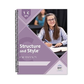 Structure and Style for Students: Year 1 Level C Teacher's Manual only