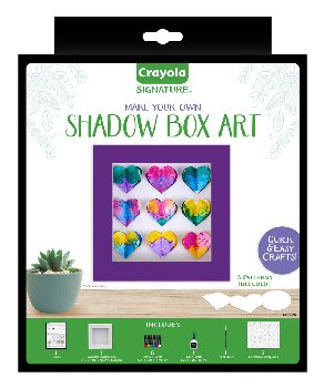 Crayola Signature Shadow Box Frame Kit