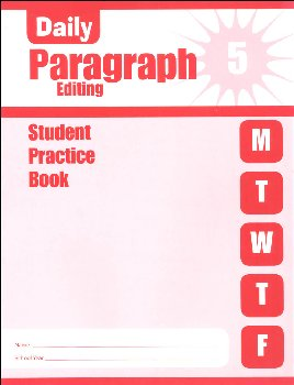 Daily Paragraph Editing Grade 5 - Individual Student Workbook