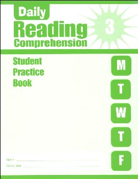 Daily Reading Comprehension Grade 3 - Individual Student Workbook