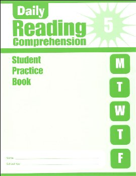 Daily Reading Comprehension Grade 5 - Individual Student Workbook