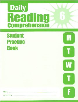 Daily Reading Comprehension Grade 6 - Individual Student Workbook