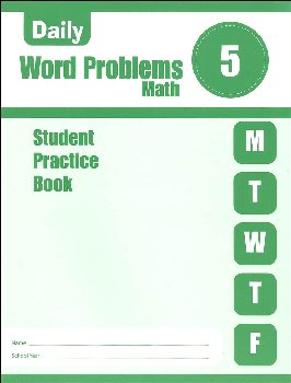 Daily Word Problems Grade 5 - Individual Student Workbook
