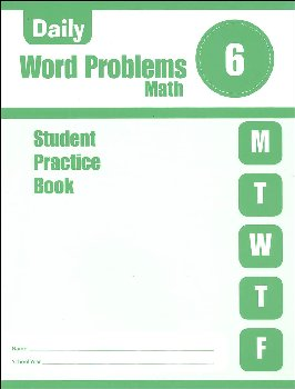 Daily Word Problems Grade 6 - Individual Student Workbook
