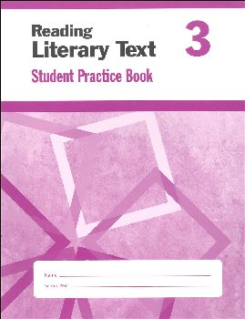 Reading Literary Text Grade 3 - Individual Student Workbook