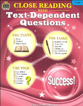 Close Reading with Text-Dependent Questions Grade 5