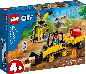 LEGO City Great Construction Bulldozer (60252)