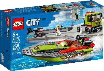 LEGO City Great Race Boat Transporter (60254)