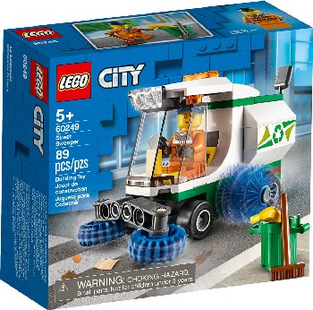 LEGO City Great Street Sweeper (60249)