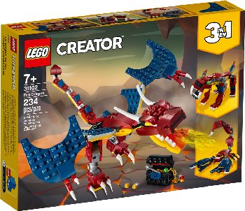 LEGO Creator Fire Dragon (31102)