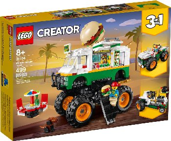 LEGO Creator Monster Burger Truck (31104)