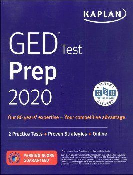 GED Test Prep 2020: 2 Practice Tests & Proven Strategies (Revised)