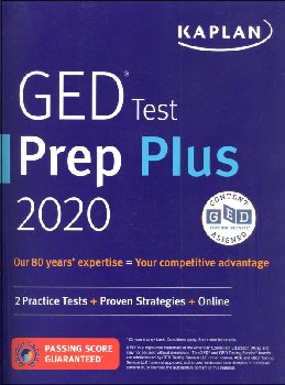 GED Test Prep Plus 2020: 2 Practice Tests & Proven Strategies + Online (Revised)