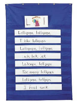 Beginnings K5 Standard Pocket Chart 3ED