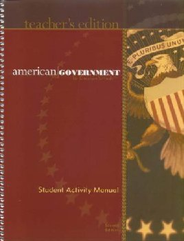 American Government Activity Manual Teacher 2nd Edition