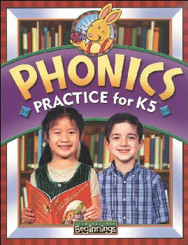 Beginnings K5 Phonics Practice 3ED