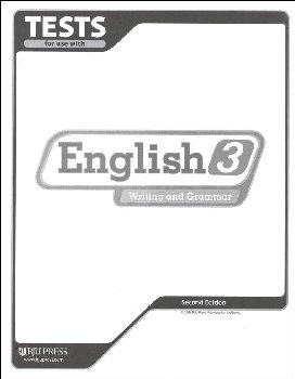 Writing/Grammar 3 Testpack 2ed