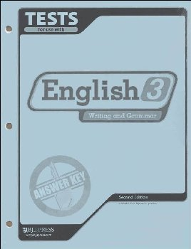 Writing/Grammar 3 Testpack Key 2ed