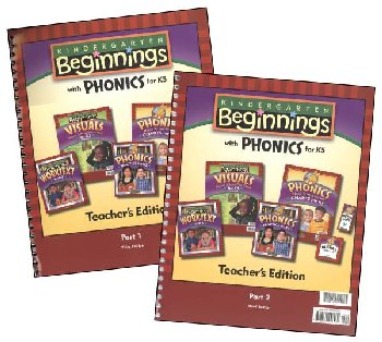 K5 Beginnings Teacher Edition A & B 3rd Edition