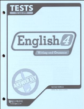 Writing/Grammar 4 Testpack Key 2ED