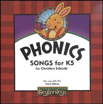 Beginnings K5 Phonics Songs CD 3ED