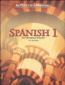 Spanish 1 Student Activity Manual 2ED