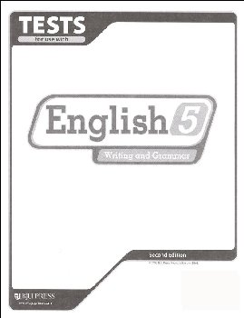 Writing/Grammar 5 Testpack 2ED