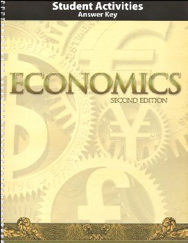 Economics Student Activities Teacher's 2nd Edition