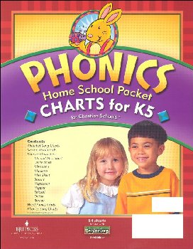 Beginnings K5 Phonics Chart HS Packet 3ED