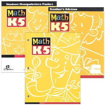 Math K5 Home School Kit 3rd Edition