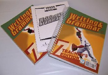 Writing/Grammar 7 Home School Kit 3ED