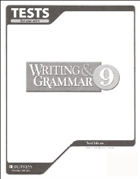 Writing/Grammar 9 Testpack 3ED