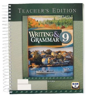 Writing/Grammar 9 Teacher 3ED