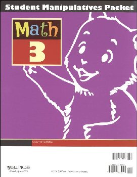 Math 3 Student Manipulatives Packet 3rd Edition