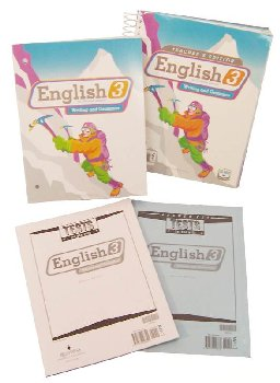 English 3 Home School Kit 2ED