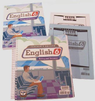 English 6 Home School Kit 2ED