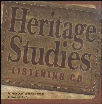 Heritage Studies Listening CD