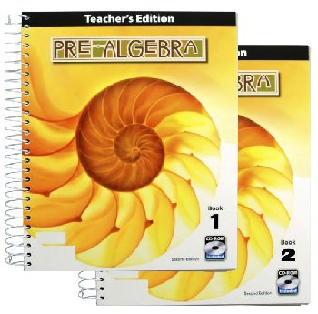 Pre-Algebra Teacher Book & CD 2nd Edition