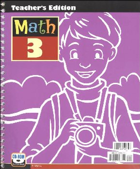 Math 3 Teacher's Edition w/ CD (3rd Ed)