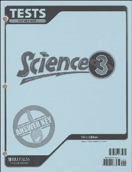 Science 3 Testpack Answer Key 3rd Edition