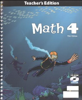 Math 4 Teacher's Edition with CD 3rd Edition