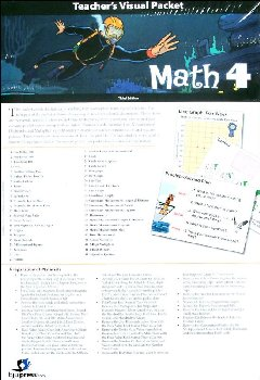 Math 4 Teacher's Visual Packet 3rd Edition