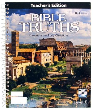 Bible Truths E Teacher w/ CD 3ED